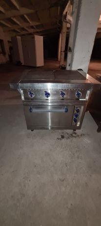Плита печь абат с духовкой в отличном состоянии