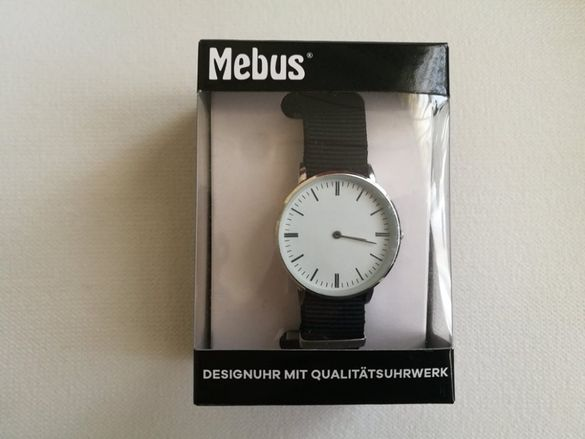 Нов мъжки ръчен часовник аналогов кварцов