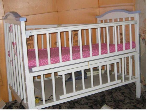 Детский манеж – кровать, б/у – 4,000 тенге