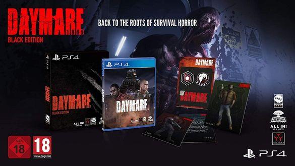[ps4]! Най-ниска Цена! Daymare: 1998 - Black Edition НОВИ/Best Horror