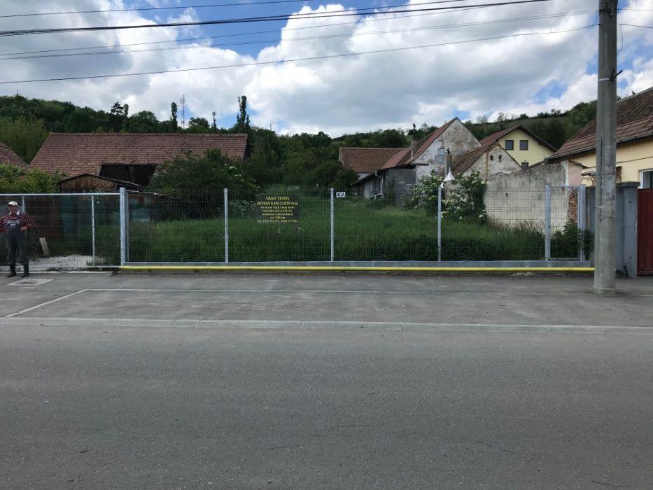 Vand teren intravilan 1200 mp, central, Ocna Sibiului