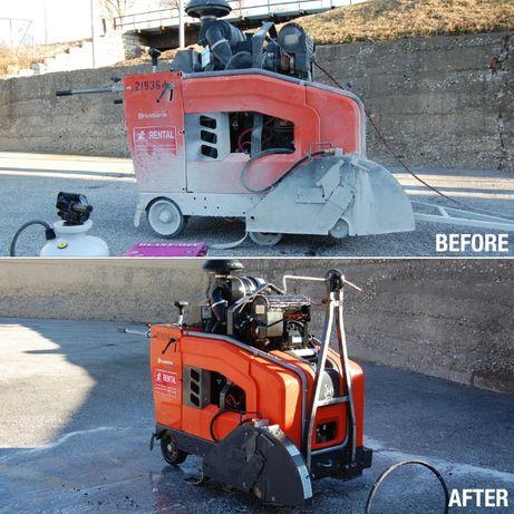 Import detartrant beton 1L+8L apa bidon 22kg.Detartrant ciment+tva