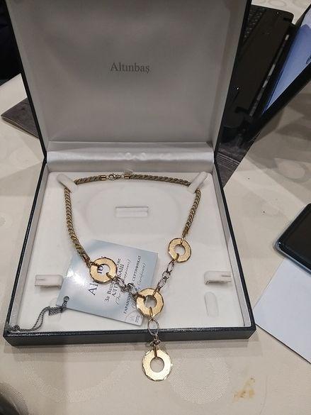 Altinbas-Златно колие