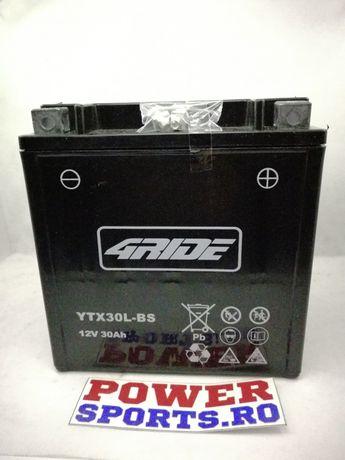Baterie ATV Snowmobil Polaris 30ah amperi YB30L-B gel AGM NOU