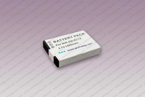ANIMABG Батерия модел EN-EL12 за Nikon Coolpix