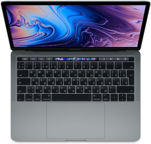 Macbook pro 13 2019 touch bar 256 gb Iris655