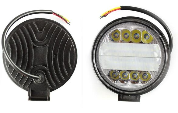 90W IP68 LED Халоген работна лампа диоден фар 30 диода DC 10-30V