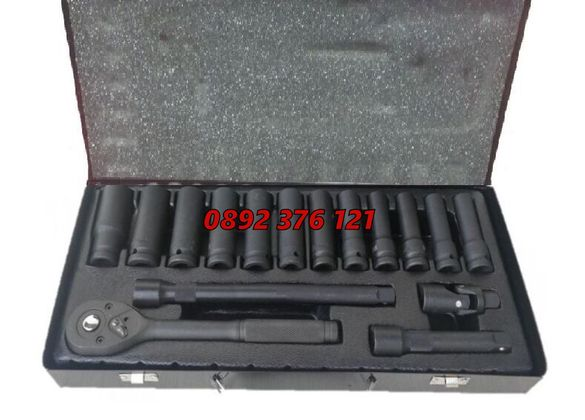 Гедоре 16 части 1/2 10-24мм Optimus Германия - гедория шестостенна