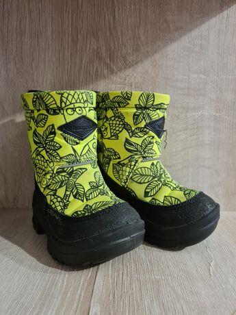 Детские зимние ботинки kuoma размер 21