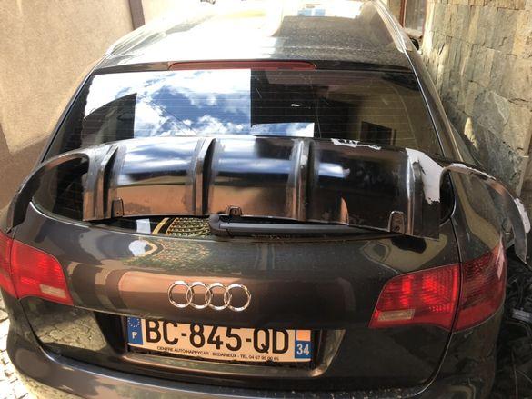 Дифузьор ауди Audi RS6