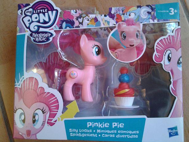 Ponei nou Pinkie Pie cu gurita cascata si tortul aniversar, original
