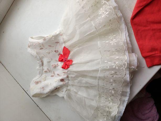 Платье на пол годика
