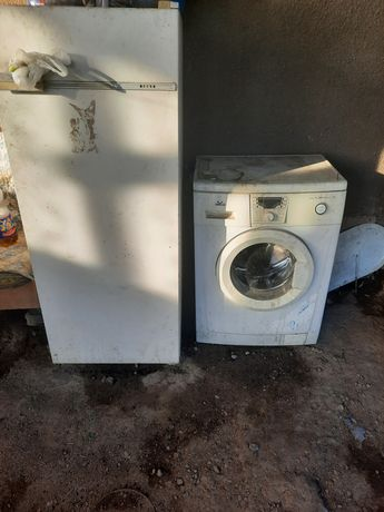 Холодильник и стиральная машина