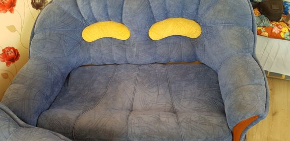Двуместен диван с ракла