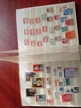 TS941 Clasor a5 cu timbre stampilate Ungaria si Italia