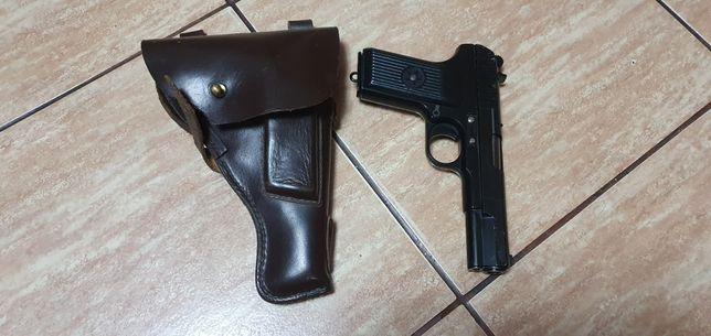 Replica pistol TT 33 si toc din piele URSS
