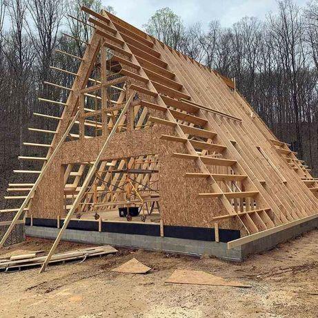 Vând și fac case din lemn
