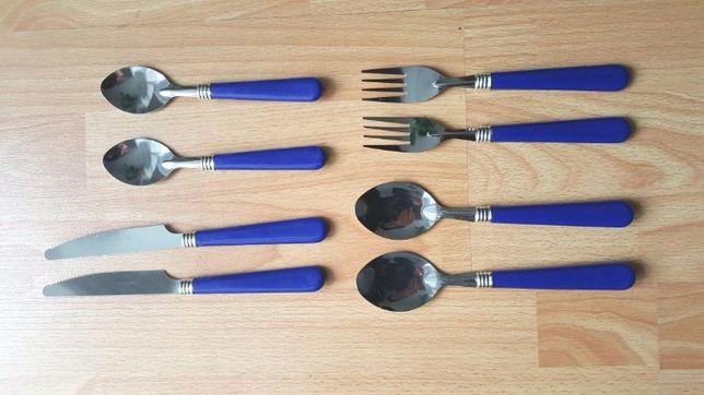 Set tacâm nou 2 cuțite, 2 furculițe, 2 linguri și 2 lingurițe