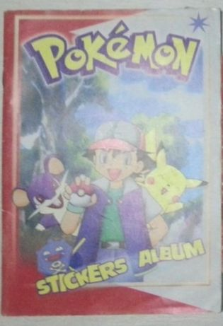 Pokemon Album catalog stickere