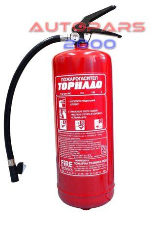 Прахов пожарогасител, 6 кг, ABC