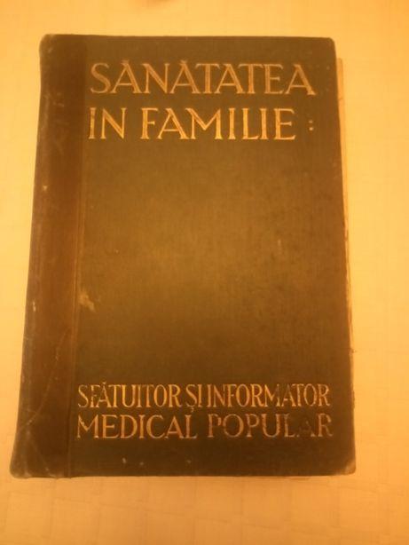 Sănătatea în familie-carte veche, Oradea, 1932