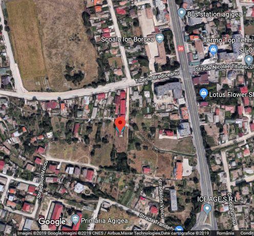 Vand teren intravilan zona Centru Agigea jud Constanta 785mp