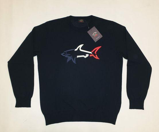 Оригинален мъжки пуловер Paul Shark размер L
