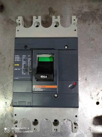Автомат 400 A 3 фазы EZC400N Merlin Geri.