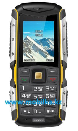 Противоударный водонепроницаемый телефон, 2 сим карты, IP67