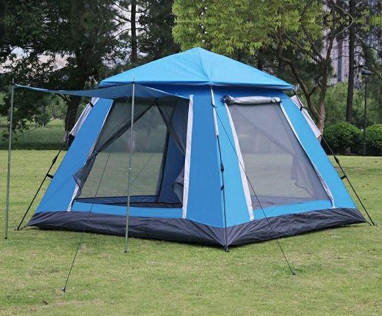Палатка автомат усиленная сталь на 4-5 чел отличной вентиляцией