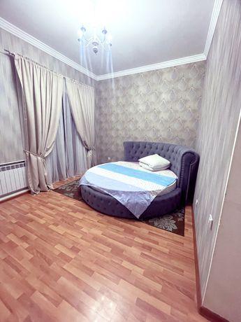 2 ком квартира по часам 2500 и на ночь 15000 Центр Имран.Сутка 20000