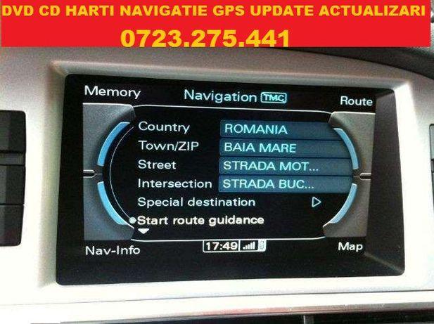 GPS Cd Dvd AUDI DVD Harti Navigatie AUDI MMI 2G Europa ROMANIA 2020