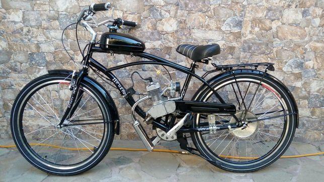 Bicicleta  Neuzer Cruiser cu motor benzina 2t 49 / 80 cc