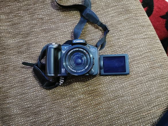 Canon s5is powershot