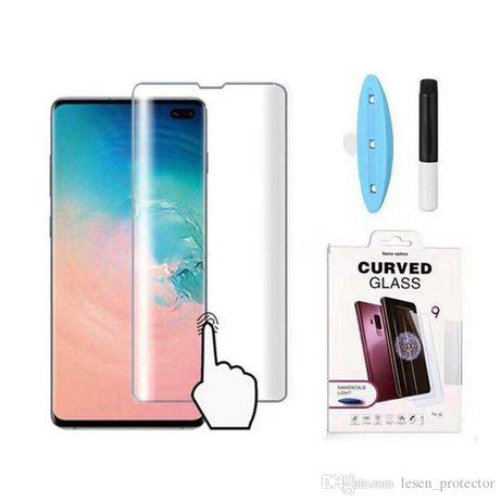 Samsung S10 S10+ S20 S02+ S20 ULTRA Folie Sticla Ultraviolet + Lampa