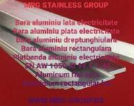 Platbanda aluminiu electricitate 30x10mm EN AW 1050 stare O moale bara