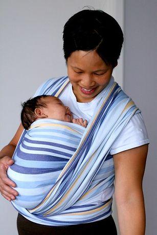 Тъкан слинг за носене на бебе Didymos Tobi, размер 4 (3,6 м)