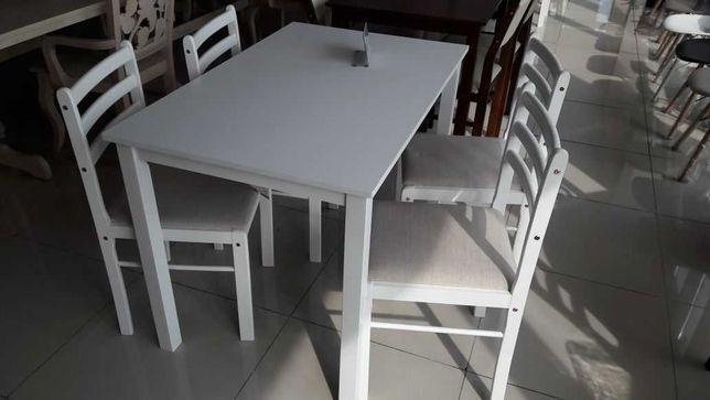 "Кухонный комплект Стол+4 стула ""Пилар"" Белый, Венге"