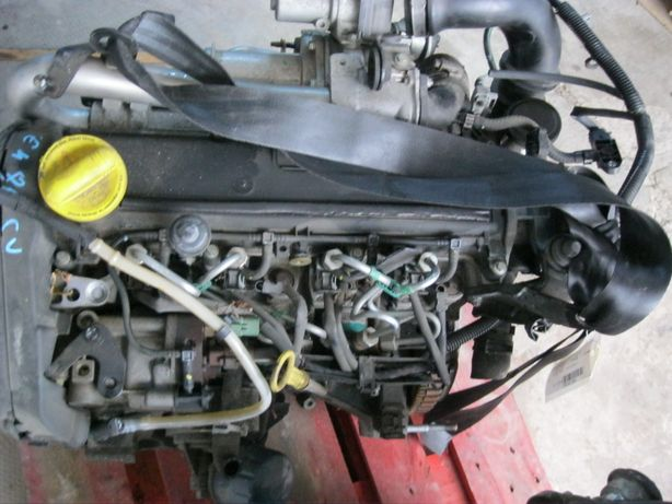 Motor COM 1,5DCI Euro4/86Cp*K9K-740*TwingoLoganMCV,Sandero1290000kmFra