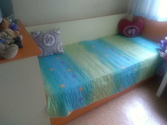 Комплект бюро и легло