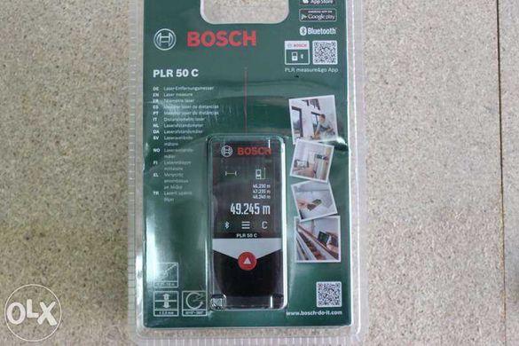 Професионална  лазерна ролетка Bosch с Bluetooth и Тъчскрин