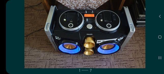 Dj philips cu 200w rms(reali,prospectul zice 300)adaptor bluetooth