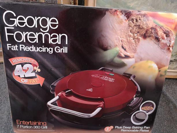 Gratar electric George Foreman 7 portion 360 grill ca NOU la cutie