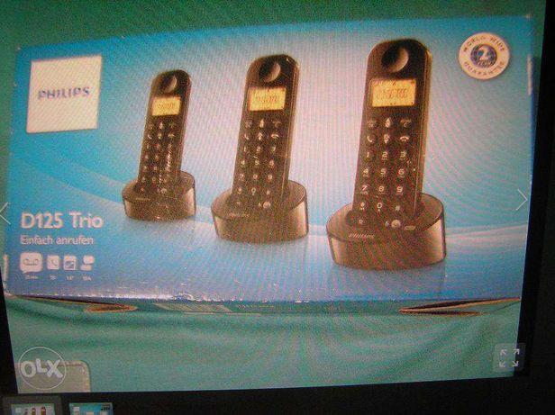 telefon cordless,Philips 3 baze