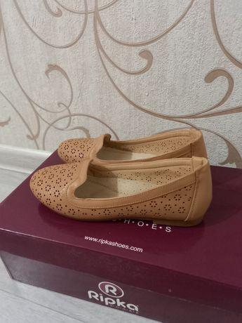 Новая обувь  р.33 Кожа!
