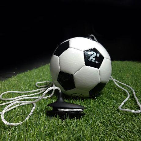 Тренировочные мячи на верёвке для футболистов