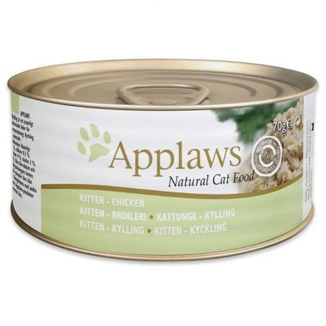 Applaws Kitten Tin with Chicken – Консерва за малки котенца с пиле 70г