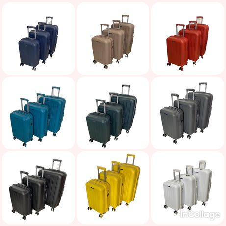 Российские чемоданы из полипропилена