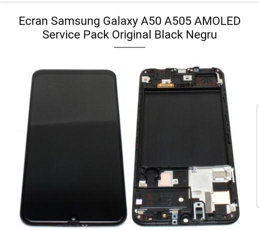 Display A50 A505 Samsung Nou Original complet cu ramă
