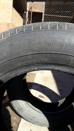 "Шина ""Yokohama"", производства Японии, летние, размер - 16, 215/60."